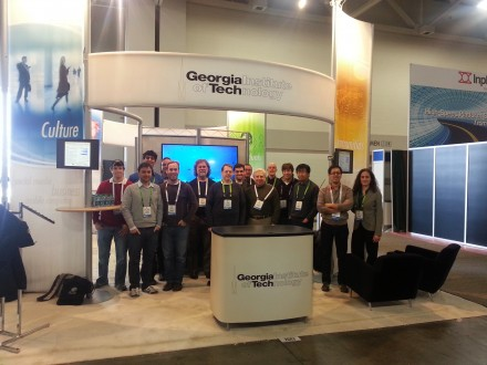 The Georgia Tech both at Supercomputing 2012