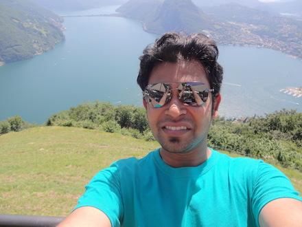 Piyush's selfie from PMAA 2014